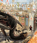 Harry Potter Illustreret 4 - Harry Potter og Flammernes Pokal